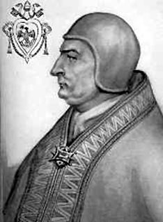 Pope Clement IV Pope (1265-1268), patron of Roger Bacon & Thomas Aquinas
