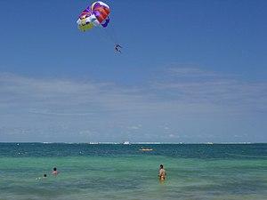 Parasailing - Parasailing in Punta Cana, Dominican Republic