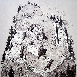 Sogn Parcazi Castle and Church