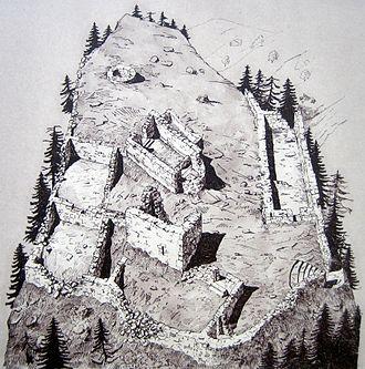 Trin - Image: Parcazi Zeichnung