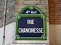 Paris - Rue Chanoinesse - Plaque.jpg