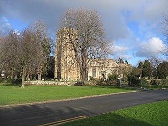 Eaton Socon - Image: Parish church, Eaton Socon, Hunts Cambs geograph.org.uk 319928