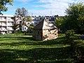 Park Daniela Adama z Veleslavína, vodovodní domek.jpg