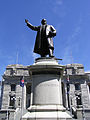 Parliament House (Statue of Richard John Seddon 1845-1906).JPG