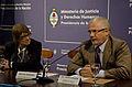"""Parodi inauguró el seminario """"Argentina- África aportes para la construcción de una agenda de trabajo compartida en Derechos Humanos"""".jpg"""