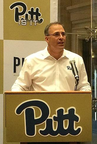 Pat Narduzzi - Image: Pat Narduzzi Pittfootball HC