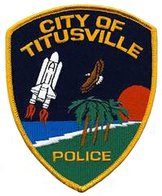 Titusville Police Department - Image: Patch of the Titusville, Florida Police Department