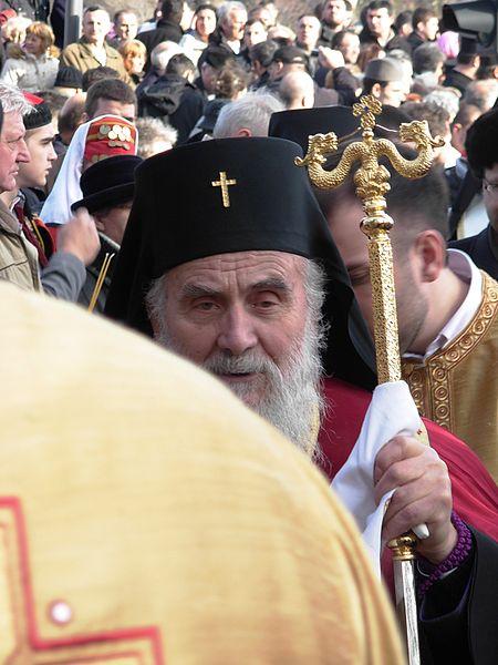 File:Patrijarh Irinej na obeležavanju 70. godišnjice Novosadske racije (2).JPG
