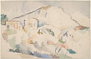 Paul Cézanne - Château Noir and Mont Sainte-Victoire, c. 1890-1895 - Google Art Project.jpg