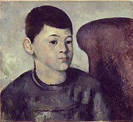 Retrat del fill de l'artista