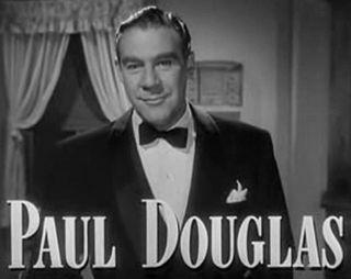 Paul Douglas (actor) American actor