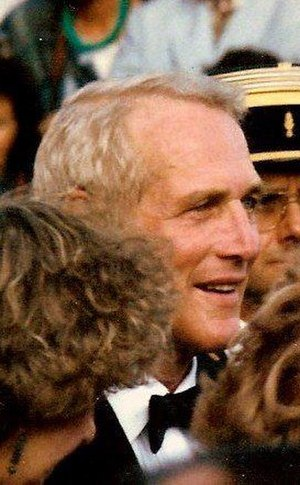 Paul Newman - Newman at the 1987 Cannes Film Festival