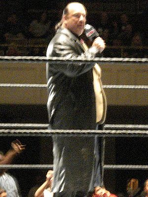 Paul Heyman - Heyman in the ring in 2006