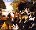 Peaceable Kingdom by Edward Hicks (ca. 1835-40).jpg