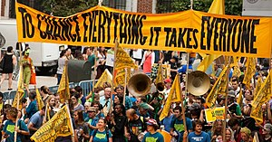 Climate movement - Image: People's Climate March 2014