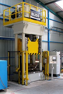 Hydraulic press - Wikipedia