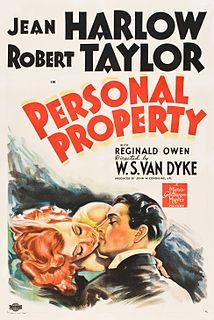 <i>Personal Property</i> (film) 1937 film by W. S. Van Dyke