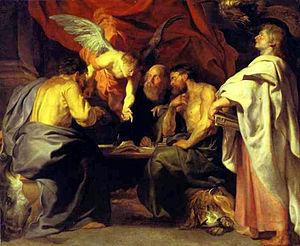 Sanssouci Picture Gallery - Image: Peter Paul Rubens Die Vier Evangelisten
