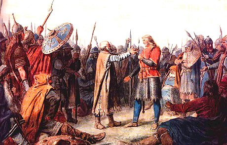 Peter nicolai arbo, olaf tryggvasson king