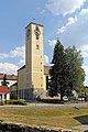Pfarrkirche in Alt-Nagelberg Westseite 2015-08.jpg