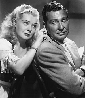 The Phil Harris-Alice Faye Show - Harris and Faye in 1950