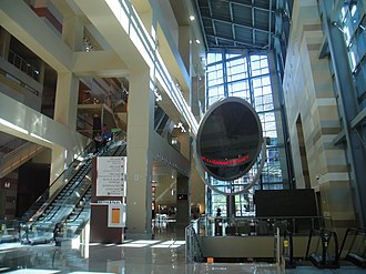 Phoenix Convention Center - The lobby inside the west building.