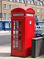 Phonebox on Park Road, Marylebone - geograph.org.uk - 1407640.jpg
