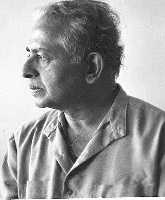 Niranjana (writer) - Image: Photograph of Kannada author Niranjana