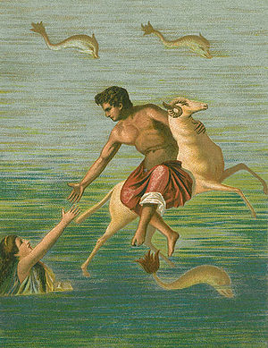 Helle (mythology) - Image: Phrixos und Helle