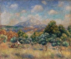 Montagne Sainte-Victoire (Paysage)