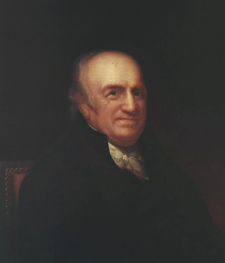 Pierre Samuel du Pont de Nemours, a prominent physiocrat. In his book la Physiocratie, du Pont advocated low tariffs and free trade. Pierre Samuel du Pont de Nemours (1739-1817).png