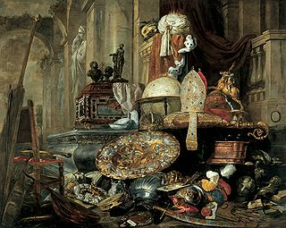 <i>Allegory of the Vanities of the World</i> 1663 painting by Pieter Boel