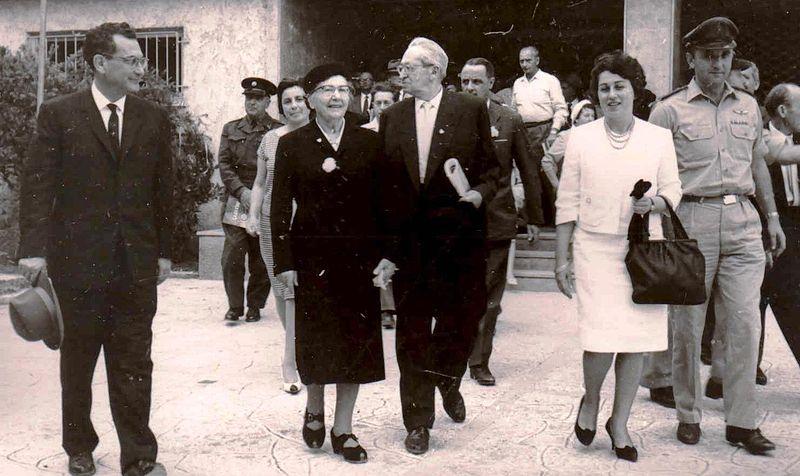 ביקור הנשיא בן צבי