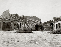 Pillaged and destroyed village during the First Balkan War.jpg