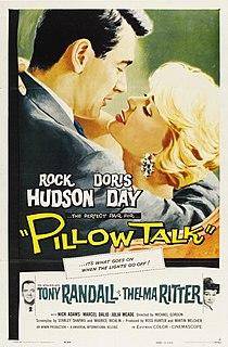 <i>Pillow Talk</i> (film) 1959 film by Michael Gordon