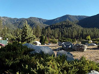 Pine Mountain Club, California - Pine Mountain Club and the Los Padres National Forest