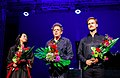 Piotr Orzechowski, Maki Namekawa i Philip Glass.jpg