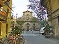 Plaça de la Barceloneta amb Sant Miquel del Port.jpg