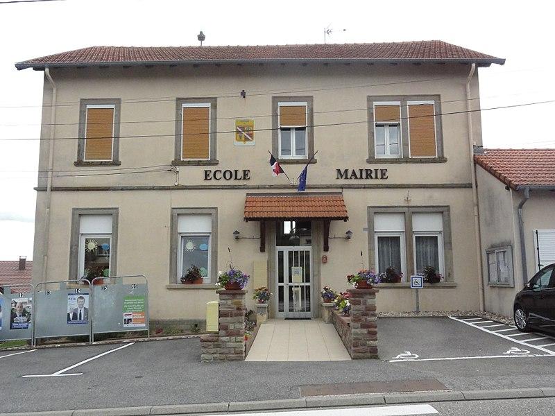 Plaine-de-Walsch (Moselle) mairie - école