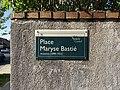 Plaque Place Maryse Bastié - Noisy-le-Grand (FR93) - 2021-04-24 - 2.jpg
