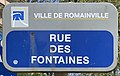 Plaque Rue Fontaines - Romainville (FR93) - 2021-04-24 - 1.jpg