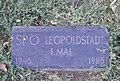 Plaque SPÖ Leopoldstadt 1. Mai, Praterstern.jpg