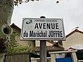 Plaque avenue Maréchal Joffre Fontenay Bois 1.jpg