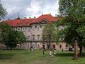 Plasy, Czech town - monastery, front.jpg