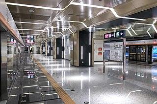 Huazhuang station Beijing Subway station