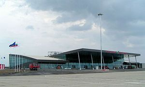 Plovdiv Airport - Image: Plovdiv airport New terminal building