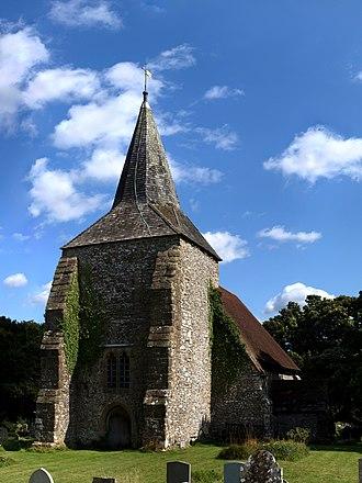 Plumpton, East Sussex - Image: Plumpton Church crop