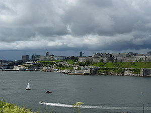 Climate of the United Kingdom - An overcast day in Plymouth, south-west England