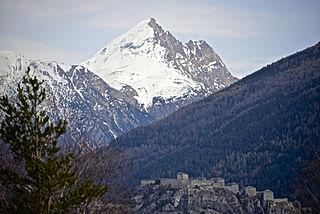 Pointe de Bellecombe Mountain in France