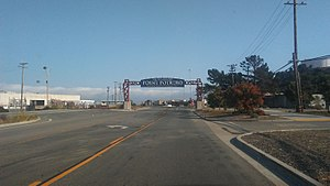 Port of Richmond (California) - Terminal 3 entrance